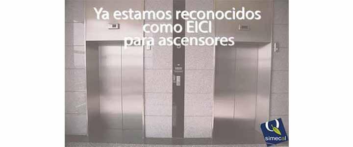 Ampliamos nuestras actividades como EICI para ascensores