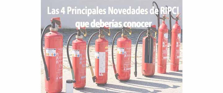 Lo que debes conocer respecto al Nuevo Reglamento de Protección Instalaciones de Protección  Contra Incendios (RIPCI)